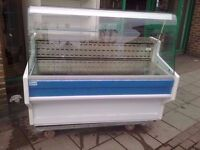 DISPLAY FRIDGE KITCHEN CATERING RESTAURANT FASTFOOD SERVEOVER CAFE CANTEEN COMMERCIAL CAFETERIA