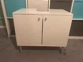 Under sink bathroom cabinet from ikea