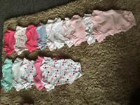 Baby clothes various from tin baby, 0-3 upto 3months