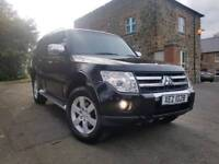 2007 Mitsubishi shogun 3.2 DID Warrior 7 SEATER! FULL LEATHER,SAT-NAV, F/M/S/H,98K MILES,FULL MOT