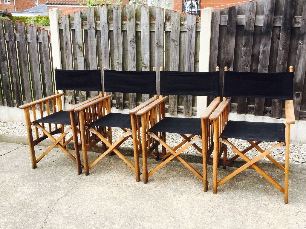 Marks   Spencer s quality garden directors chairs. Marks   Spencer s quality garden directors chairs   in Mapplewell