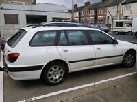 Peugeot 406 estate for Spares or Repair S reg - MOT'd until 2017. New tyres and front discs/brakes