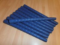 Golf club Grips X 9 -- Ladies / Juniors, In Blue