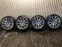 "Genuine 18"" BMW 3 Series M Sport Plus Staggered Alloy Wheels 790M - 5x112 - 316, 318, 320 G20 G20"