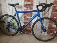 2016 Voodoo Limba 56cm Cyclo-cross bike RRP £450 Excellent Condition. Claris Group Set. Disc Brakes