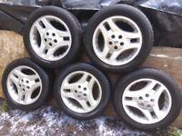 Freelander Alloy wheels.
