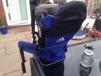Vaude baby travel backpack