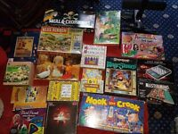 Huge Collection of Board Games,Jigsaws etc
