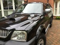 L 200! Brand new spare set tyres included. Low mileage
