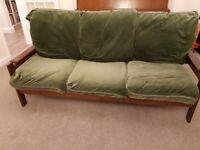 3-Seater Sofa with hardwood frame