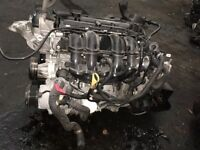 Ford Bmax 1.4 Engine SPJD D37356