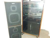 Vintage hi fi stack