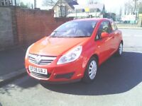 VAUXHALL CORSA 1.4 MOT 2008 MODEL PX WELCOME