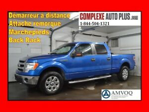 2013 Ford F-150 XTR SuperCrew 4x4 5.0L V8 CrewCab *Marchepieds,B