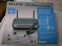 Belkin wireless G+ router mimo