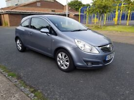 2008 Vauxhall Corsa 1.2 with long MOT in excellent condition