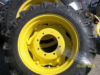 John Deere 5055e Two 9.5x24 Tires On Rims Wcenters