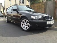 Bargain BMW 318 estate ,full leather,service history,drive excellent