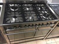 147.smeg gas range cooker