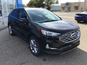 2019 Ford Edge Titanium LEATHER SEATS! DUAL CLIMATE! HEATED S...