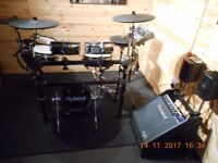 ROLAND TD20BLK WITH EXTRAS
