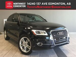 2015 Audi Q5 2.0T Progressiv | S-Line | Leather | Pano Sun