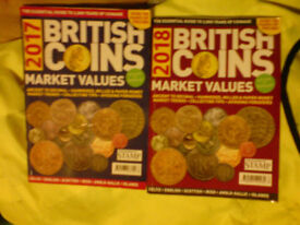 BRITISH COIN COLLECTORS 2017 & 2018 PRICE GUIDES