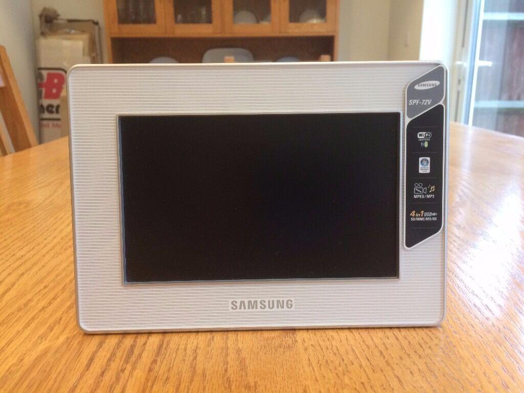 Samsung Digital Photo Frame (SPF-72V)   in St Albans, Hertfordshire ...