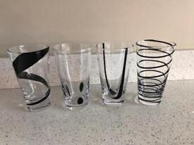 4 x lsa jazz glasses
