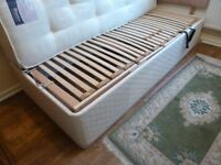DEWERT DUOMAT SINGLE ELECTRIC RISING ORTHOPAEDIC BED HARDLY USED 203CMS BY 94CMS GOOD CONDITION