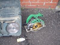 Hitachi Rip Saw 110v Check Pictures Dunfermline