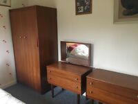 Wood bedroom suite