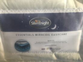 SILENT NIGHT EASEY CARE MATTRESS DOUBLE BRAND NEW.