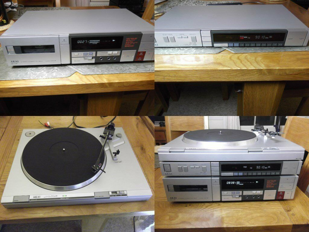 Akai cassette, tuner + FREE turntable | in Worthing, West ...