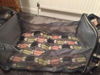 Travel pod changing bag