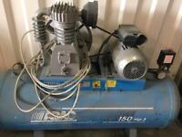 ABAC compressor 150ltr tank needs tlc