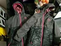 Girls northface jackets