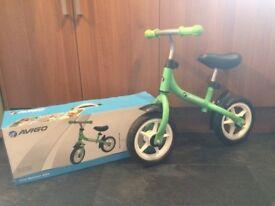Avigo First Balance Bike, complete with box