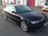 bmw 320 ci m sport full service history unmarked inside and out tan leather mv2 alloys
