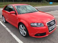 Audi a3 sline 140bhp 2.0 tdi full service history