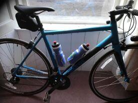 Practically new genesis road bike