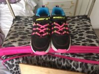 Wheelers girls size 4