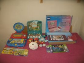 V-TECH & LEAPFROG Interactive Toys All In Working Order £25 For The Lot.