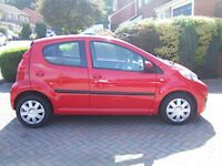 Peugeot 107 Urban 2009 in excellent condition with very low mileage, must be seen