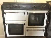 Leisure range dual fuel gas cooker 100cm FSD double oven 3 months warranty free local delivery!!!