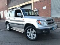 Mitsubishi Shogun Pinin 2004 2.0 GDi Warrior SUV 5 door Petrol Automatic HUGE SPEC, LEATHER, TOW BAR