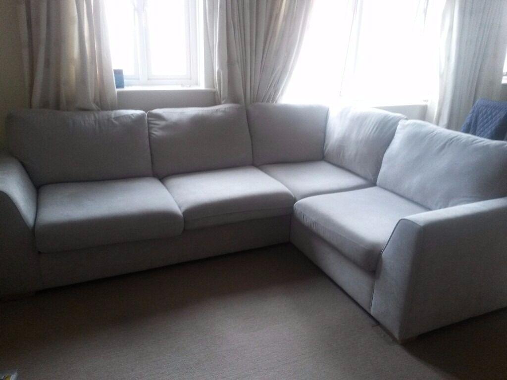 Corner Sofa Fabric Tidafors Corner Sofa With Arm Left