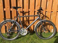 Men's Edinburgh Revolution Trailfinder Hybrid Bike