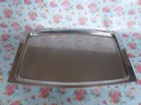 Vintage 'Stelton' stainless steel tray