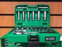 TopTul 26 Piece Socket Set with Case